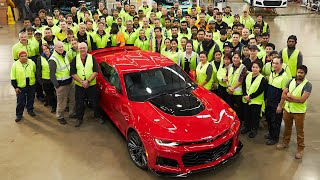 The Chevrolet Camaro Re-Engineering Process