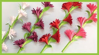 How To Make Paper Flowers   DIY Paper Craft Tutorials