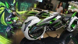 現實版孫尚香末日機甲!這款能變形的摩托車,可在行駛中變化形態 Video