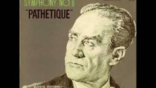 TCHAIKOVSKY: Symphony No.6   I. Adagio-Allegro non troppo (1/2)  Mravinsky