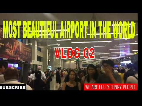 Most beautiful airport in the world/Top airport in the world/VLOG 02/Changi International Airport