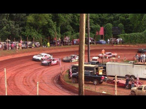 Winder Barrow Speedway Modified Street Feature Race  6/29/19