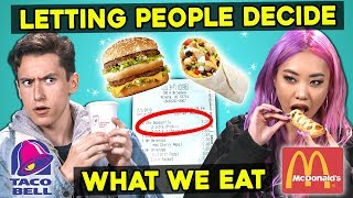 Download Letting The People In Front of Us Decide What We Eat | Guess That Generation Mp3 and Videos