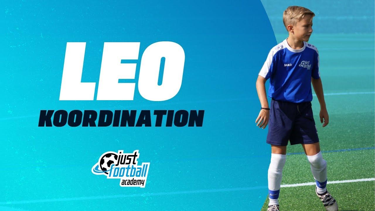 Fussballtraining Leo Koordination Kondition