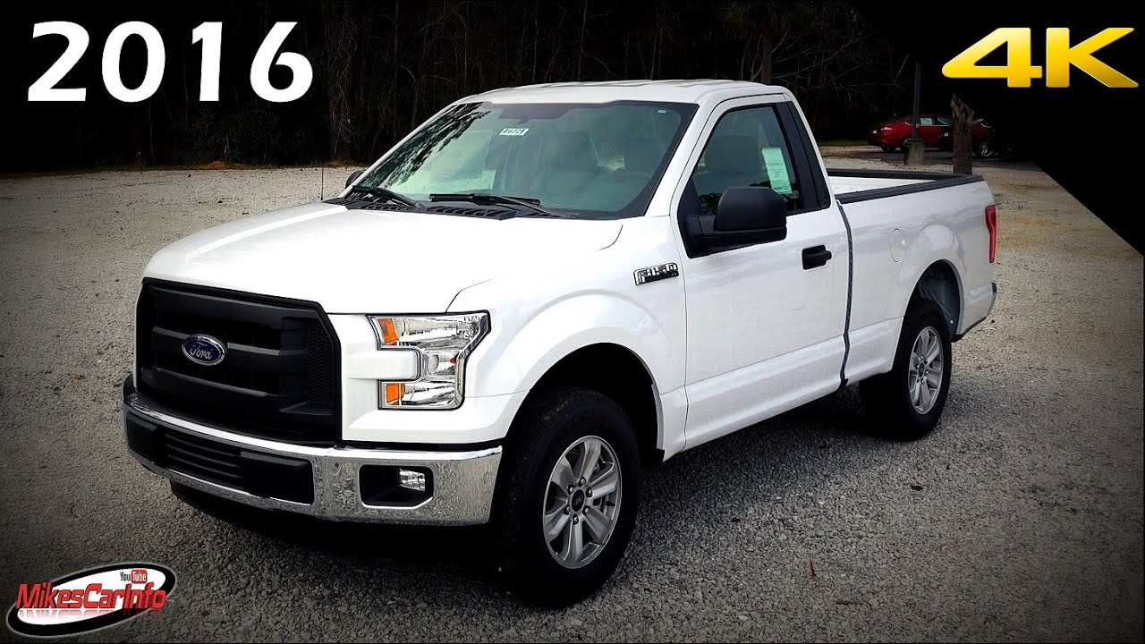 2015 Ford F 150 Regular Cab >> 2016 Ford F 150 Xl Regular Cab Ultimate In Depth Look In 4k Youtube