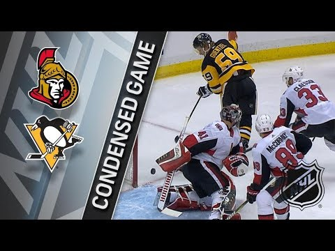Ottawa Senators vs Pittsburgh Penguins apr 6, 2018 HIGHLIGHTS HD