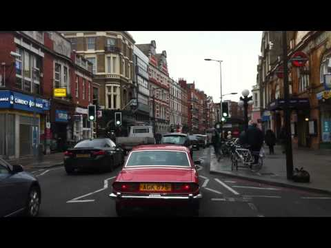 London Streets (495.) - Hammersmith - Earl´s Court - South Kensington - Eaton - Westminster