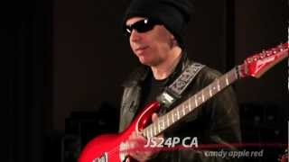 Joe Satriani introduces the new Ibanez JS24P CA Signature Model