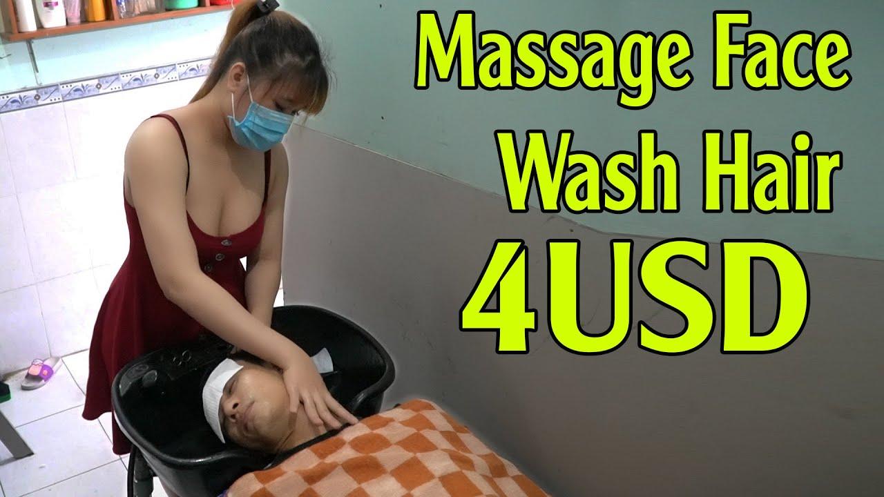 Vietnam Massage Barber Shop ASMR Massage Face & Wash Hair