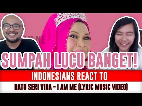 Indonesians React To Dato Seri Vida - I AM ME (Malaysian Music Video)
