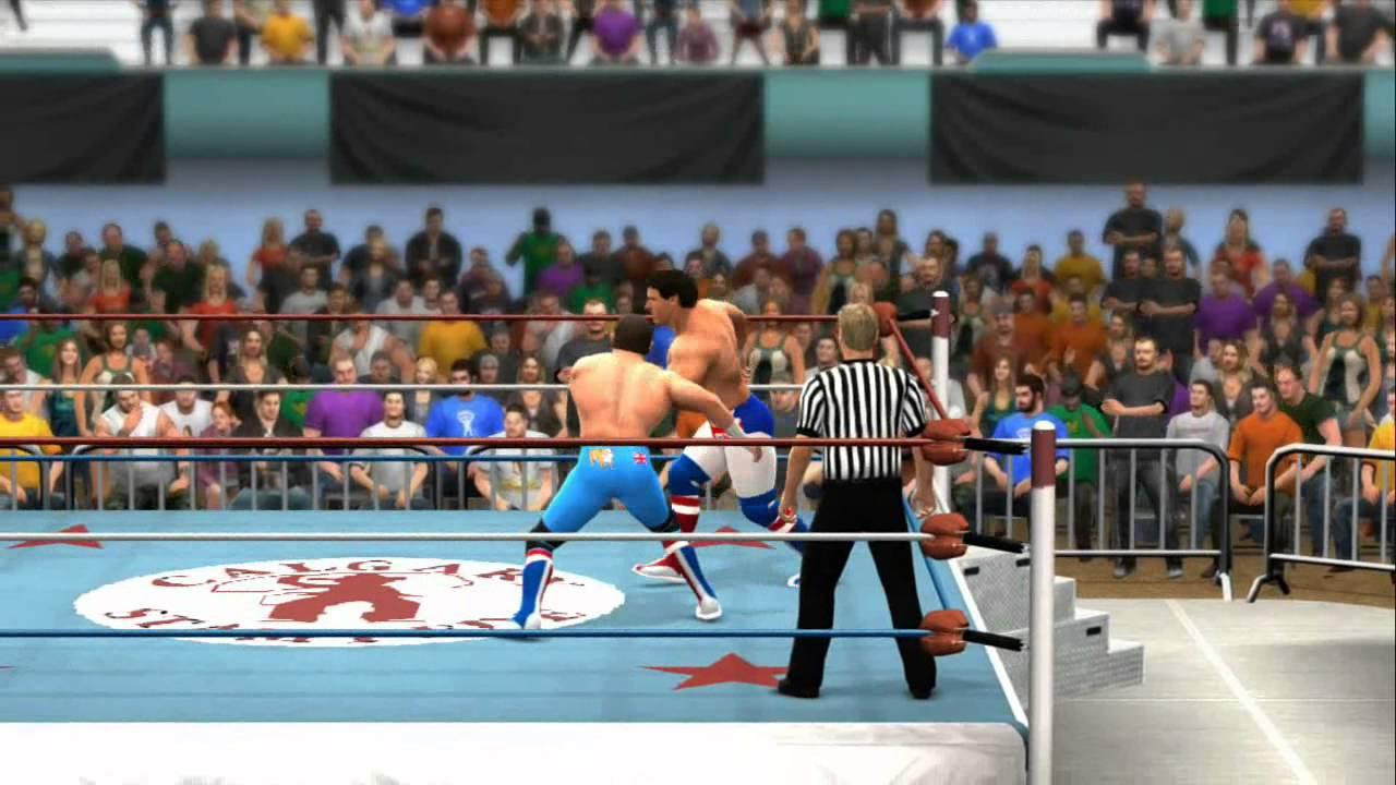 Dynamite Kid Vs Davey Boy Smith Stampede Wrestling Wwe