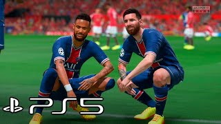 FIFA 22 PS5 - Manchester United vs Paris Saint Germain