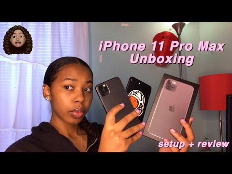IPhone 11 Pro Max Unboxing   Setup