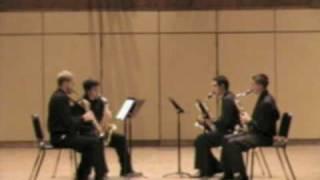 Solstice Saxophone Quartet - Pierre Max Dubois - Quatuor II (Doloroso)