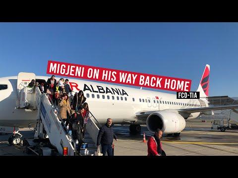 TRIP REPORT   Air Albania   Absolutely Amazing!    ECONOMY   Rome-Tirana   Boeing 737-800