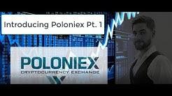 Kryptotrading Poloniex Einführung
