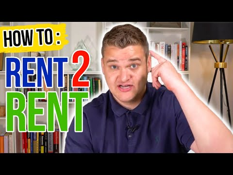 """""""The Fastest Way To Become Financially Free!?""""   Rent To Rent Strategy Explained"""