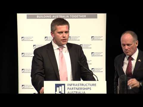 Queensland Premier Campbell Newman MP at IPA luncheon