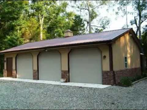Residential pole buildings and garage kits youtube for Design your own pole barn