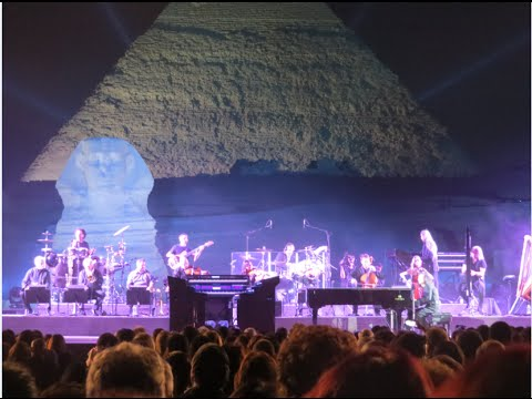 Yanni Live At The Pyramids Sending Message From Egypt To All and Felitsa HD