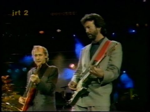 MARK KNOPFLER (Dire Straits) & ERIC CLAPTON - Walk of Life