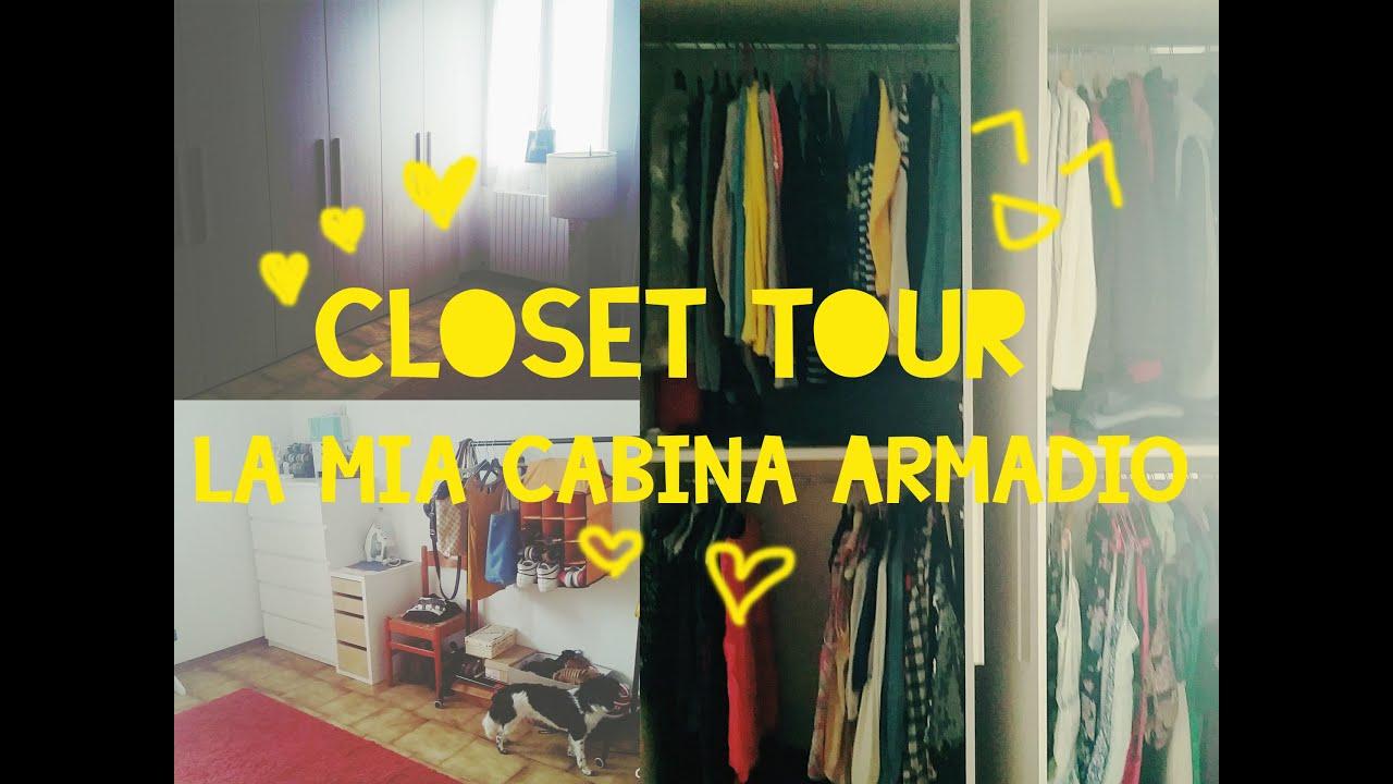Cabina Armadio Giorgia : Closet tour la mia cabina armadio youtube