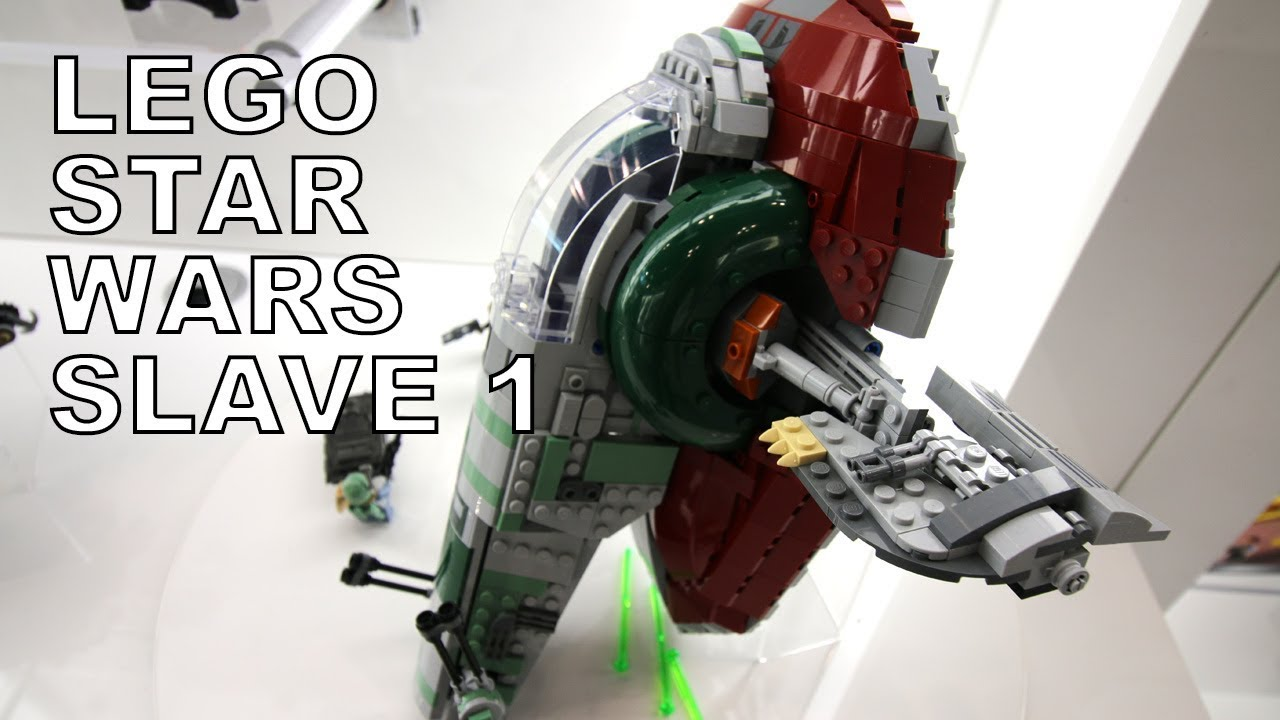 Lego Star Wars Slave I 75243 20th Anniversary Edition