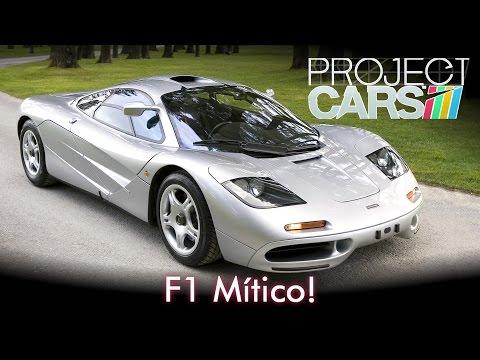 F1 Mítico! McLaren F1 | Project CARS + G25 [PT-BR]