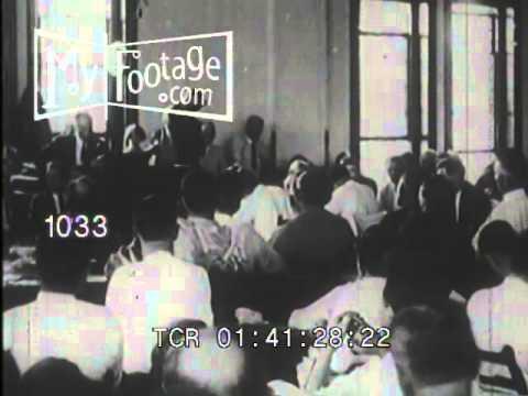 Stock Footage - 1925: The Darwin Case / Scopes Monkey Trial / Clarence Darrow
