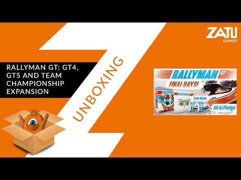 Rallyman GT: GT4, GT5 and Team Championship Exp - Unboxing