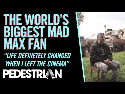 The World's Biggest Mad Max Fan
