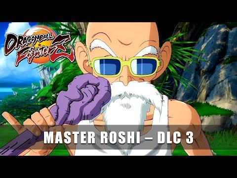 DRAGONBALL FighterZ – Master Roshi Announcement Trailer