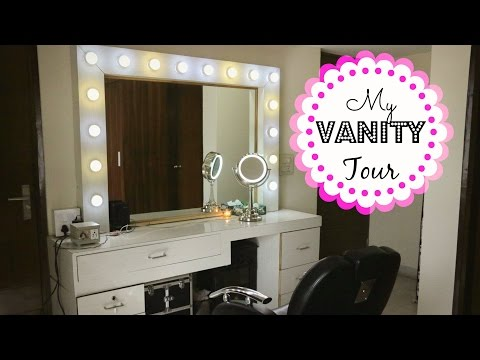 My Vanity Tour | Makeup Storage / Collection | Indian Beauty Guru | Kavya K