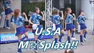 180716 M☆Splash!!「U.S.A」 サマーユニ @ZOZOマリン