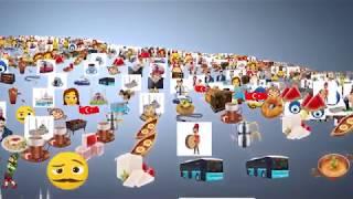 Türk Telekom Milli Emoji İçeren Ücretsiz Dijital Türkçe Mobil Akıllı Klavye Uygulaması
