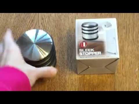 SleekStopper SW 019 Decorative Stainless Steel Door Stopper Review, Just  What My Front Door Needed