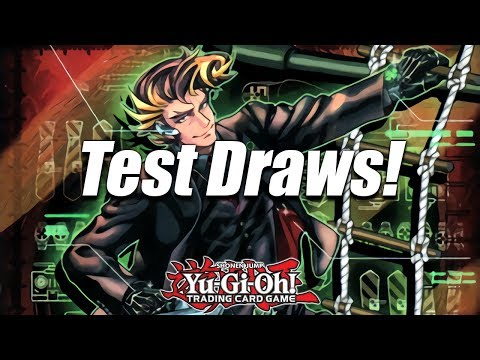 Yu-Gi-Oh! Test Draws with SPYRALS for YCS Dallas 2017! Combos Post-CIBR & Deck Playtesting!