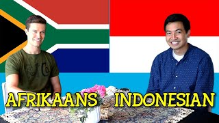 Similarities Between Afrikaans and Indonesian