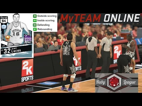 NBA 2K17 MyTeam Online Jerry Lucas Gameplay Ruby League Debut