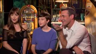 "CHAT WITH THE STARS: Jon Hamm, Dakota Johnson and Cailee Spaney talk ""Bad Times at El Royale"""