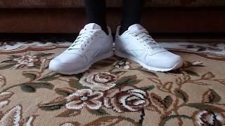 ОБУВЬ - 11 - кроссовки Reebok (белые) обзор