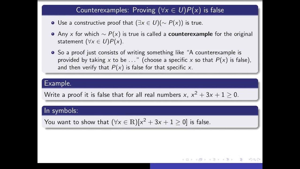 Download Section 1.6, part 1 Constructive and nonconstructive proofs of existence results