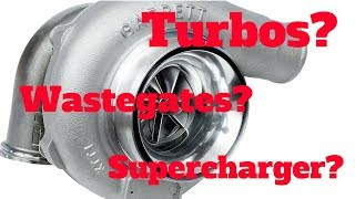 Turbo Forced Induction Basics and Examples