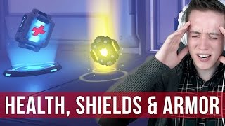 Overwatch: Differences Between Health, Shields & Armor in Overwatch Explained!