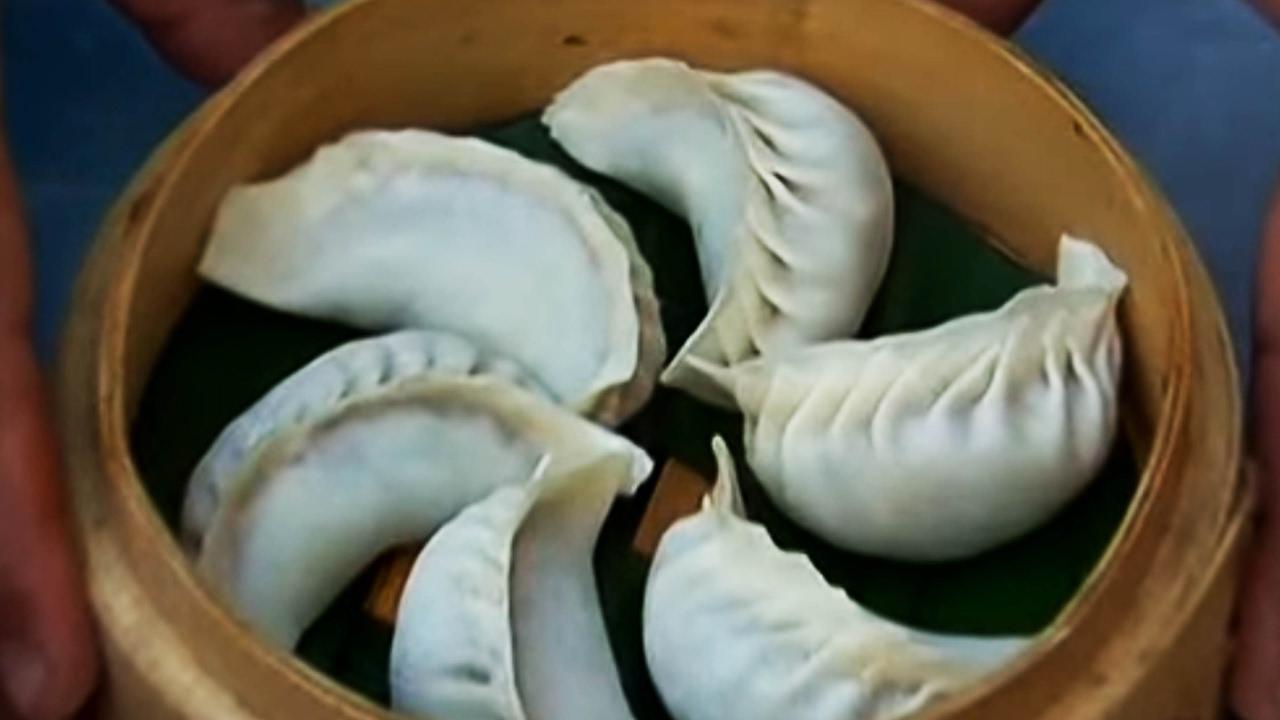 How To Make Chicken Momos | Indian Chicken Dim Sum Recipe - YouTube