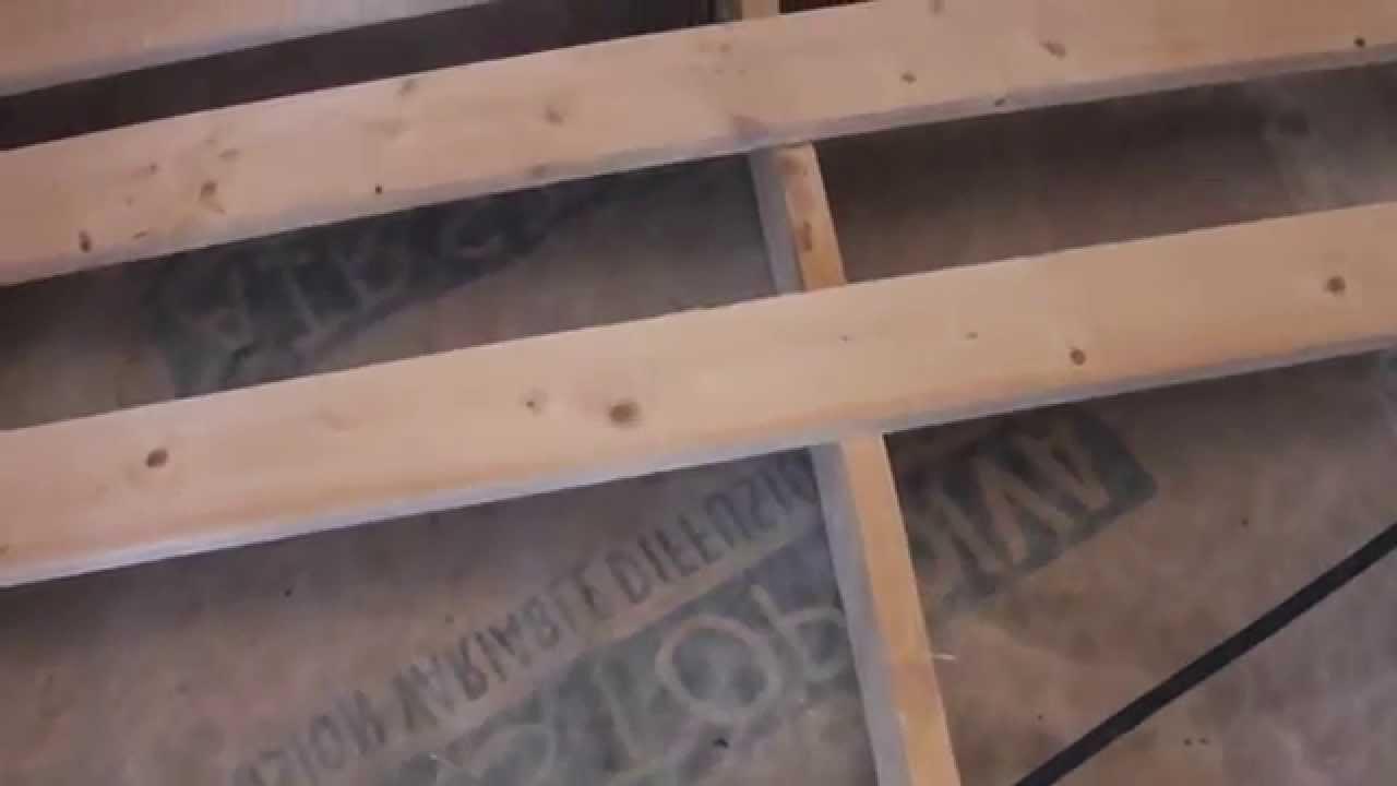 oberste geschossdecke daemmen mit youtube. Black Bedroom Furniture Sets. Home Design Ideas
