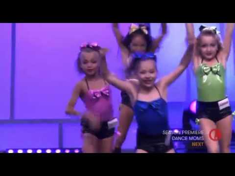 Dance Moms:  The Mini's Group Dance: Electricity