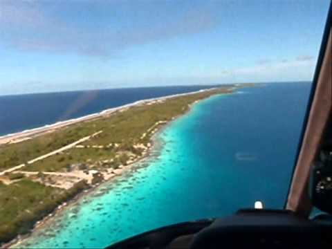 M.Y. SURI helicopter flight over Fakarava atoll .wmv