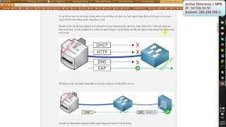 Port based authen with NPS windows 2012   part 1