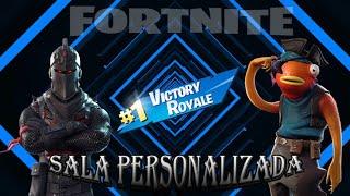 Live de Fortnite - Sala personalizada com inscritos - apoie na Loja : LARGADOS-GP